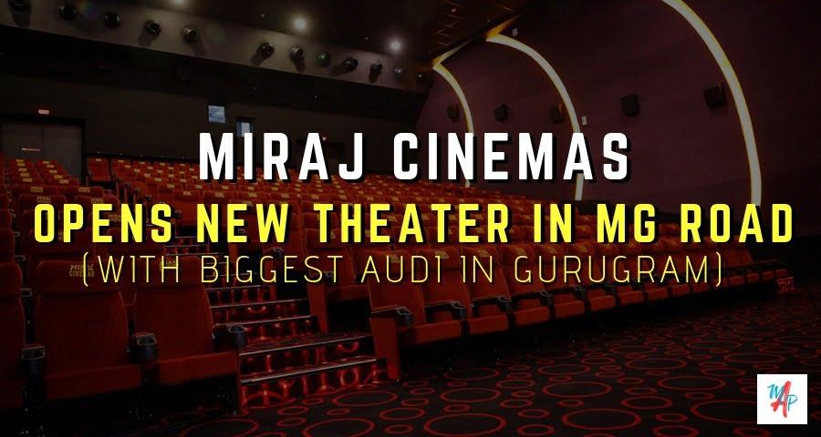 Miraj Maximum Cinemas – MGF Metropolis Mall Gurugram banner