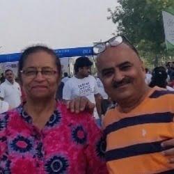 Joginder Singh and Shashi Arora