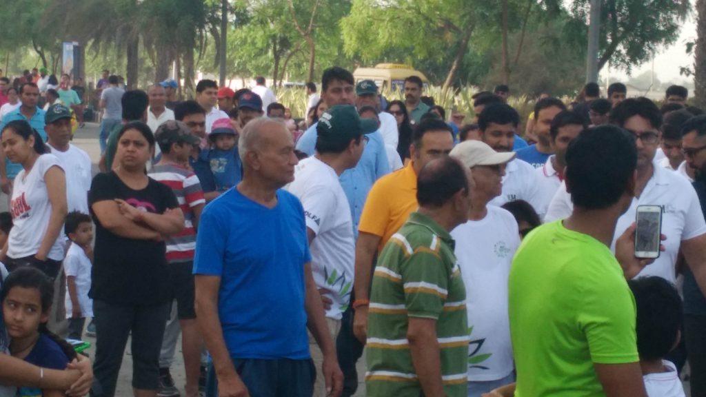 People at Raahgiri Day
