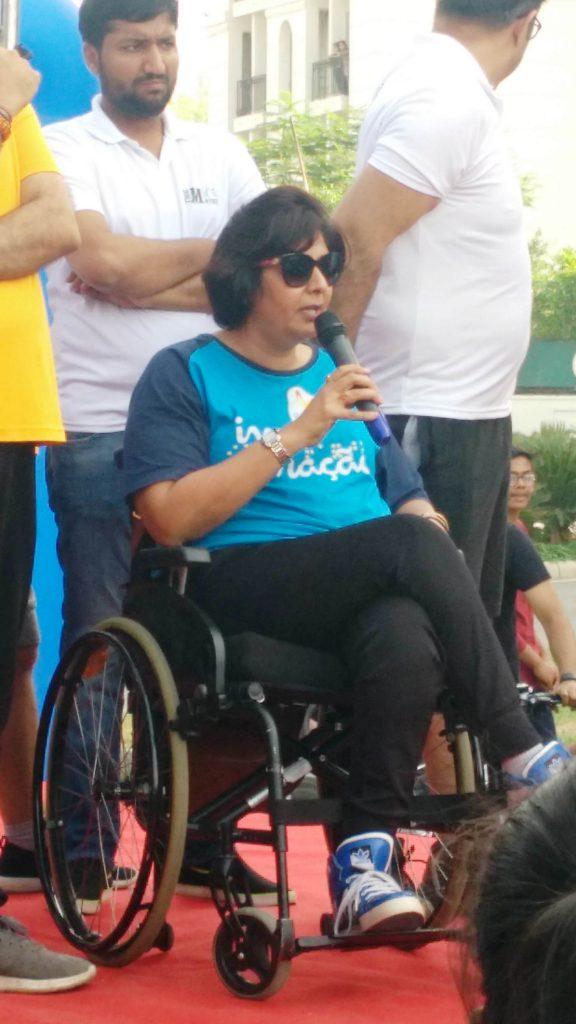 Deepa Malik at Raahgiri Day