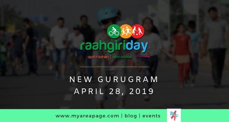 2nd Raahgiri Day celebrated in New Gurugram (Gurgaon) banner