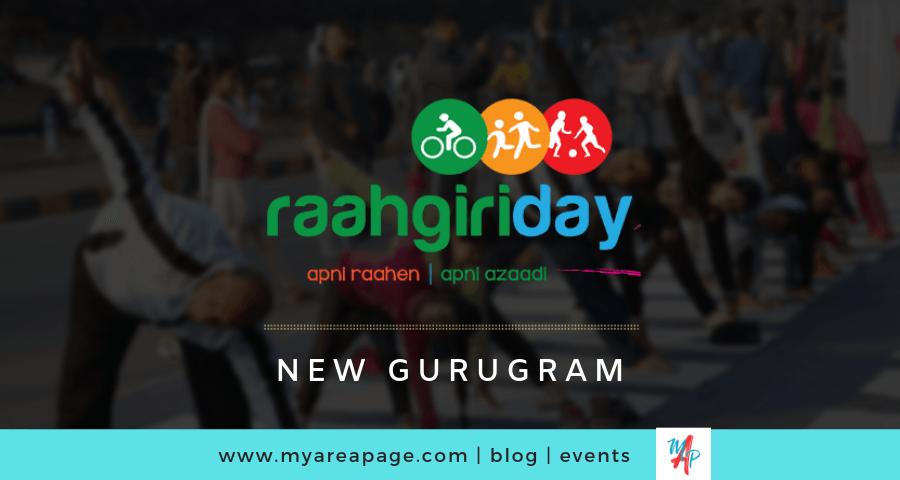 New Gurugram celebrates first Raahgiri Day in April 2019 banner