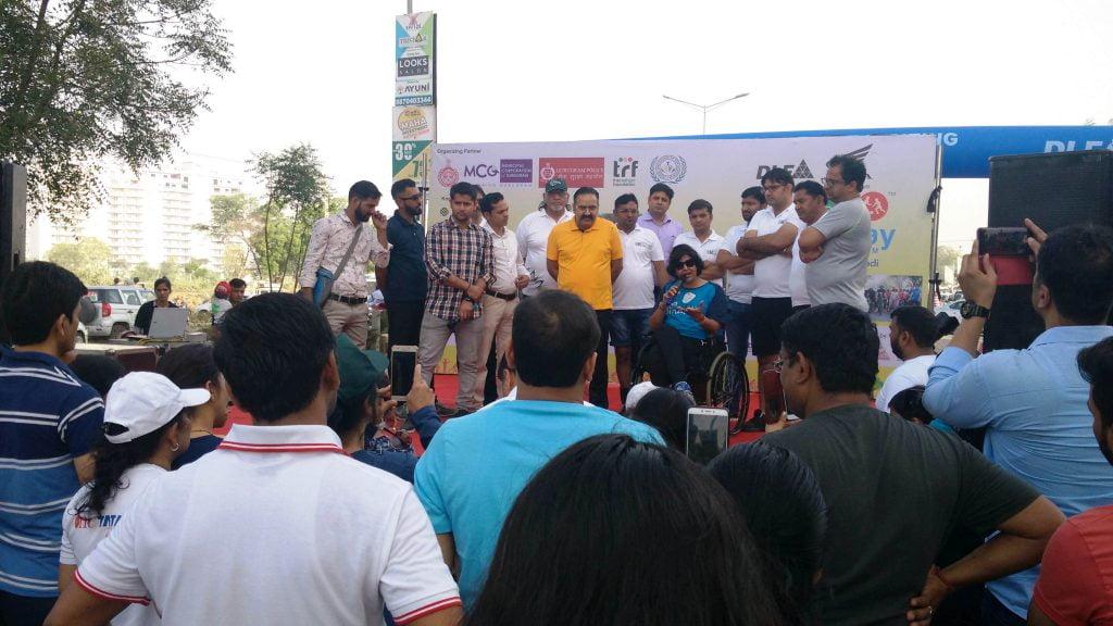 Stage Team at Raahgiri Day