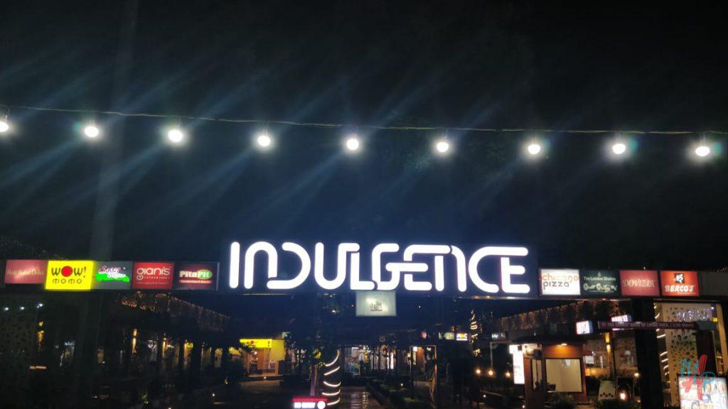 indulgence entrance