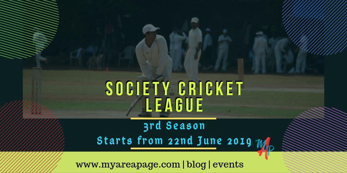 Society Cricket League – 3rd Season banner