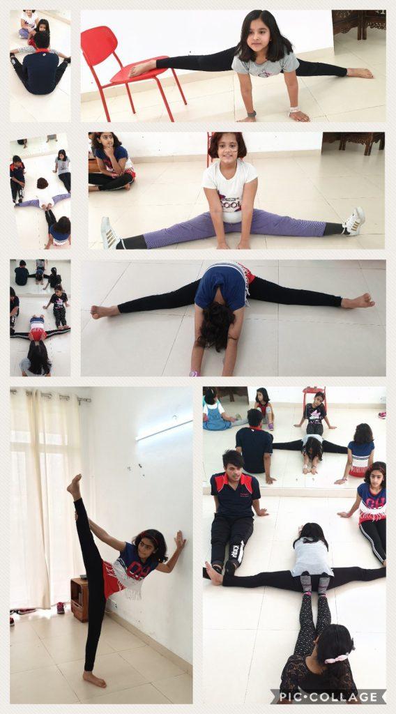 Stretching for Kalaa dance class