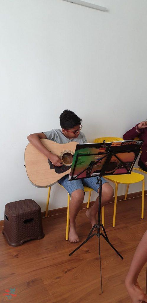 Guitar Student at Kalaa