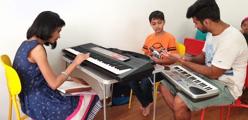 Keyboard Class at Kalaa