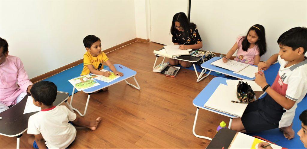 Drawing class at Kalaa