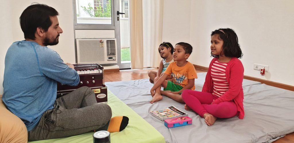 Kids Singing Class at Kalaa