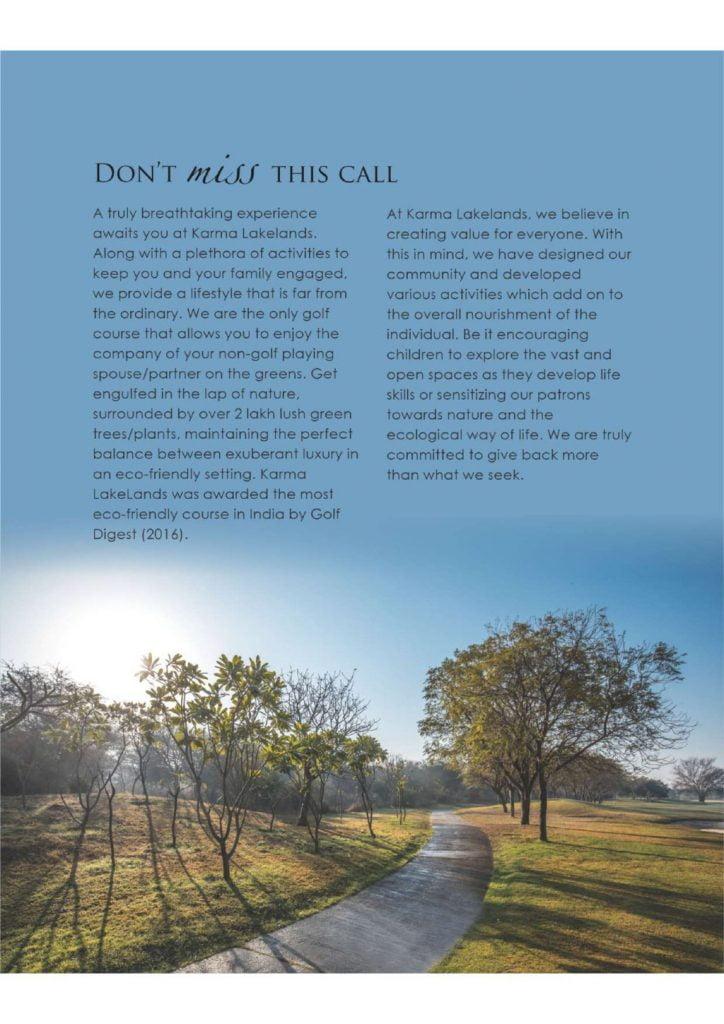 Karma Lakelands Corporate Brochure 4