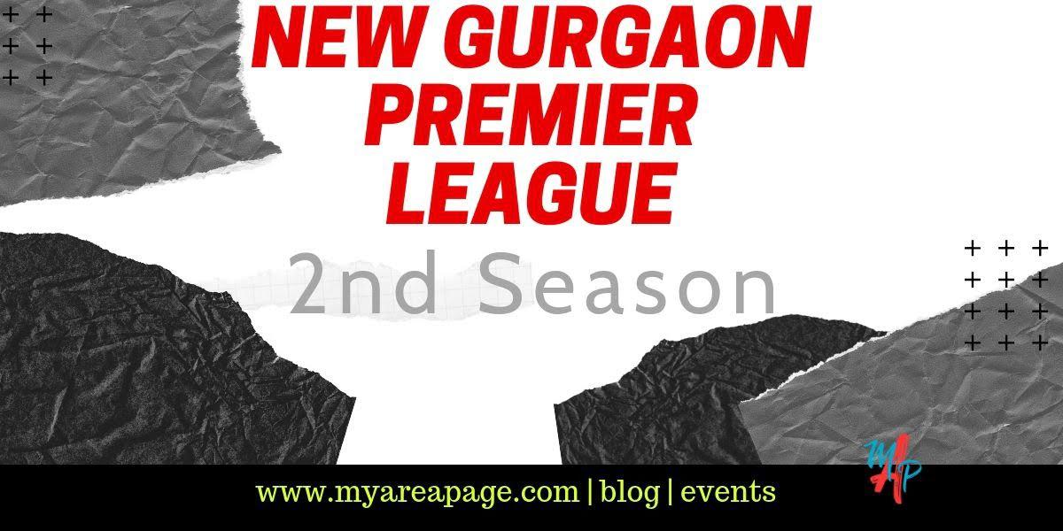 New Gurgaon Premier League – 2nd Season banner