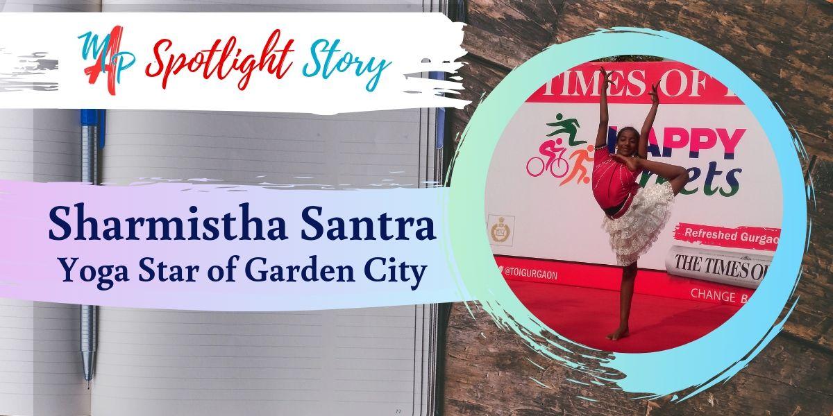 Spotlight: Sharmistha Santra – Yoga Star of Garden City banner