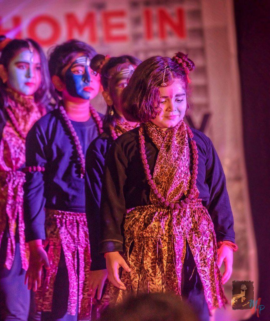 Dance performance by Kalaa students