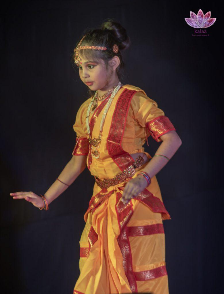 Student of Kalaa Dance