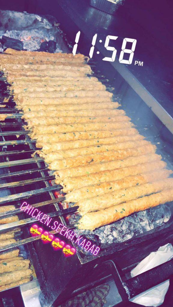 Chicken Seekh Kabaab
