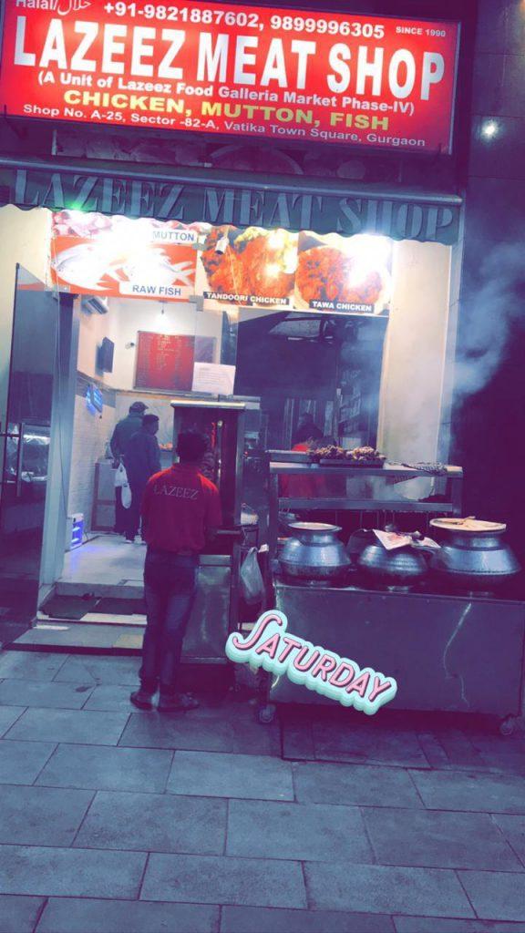 Outdoor photo of Lazeez Meat Shop