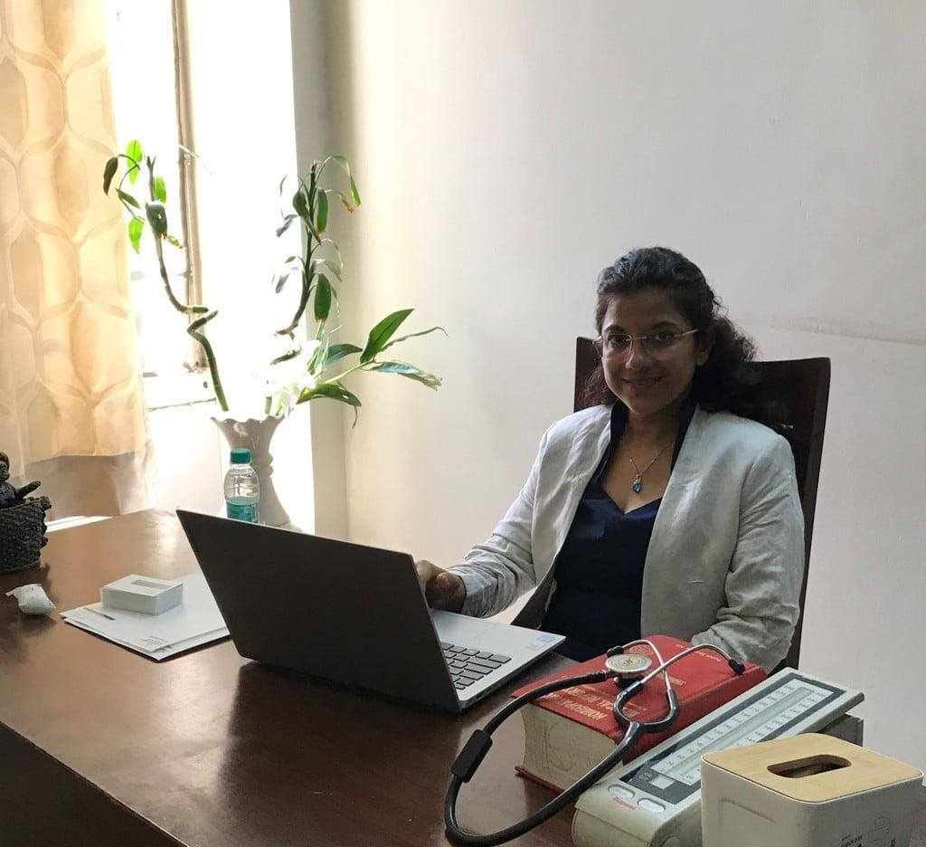 Dr. Sanchita Dharne at Elixir Homeopathy, Gurgaon