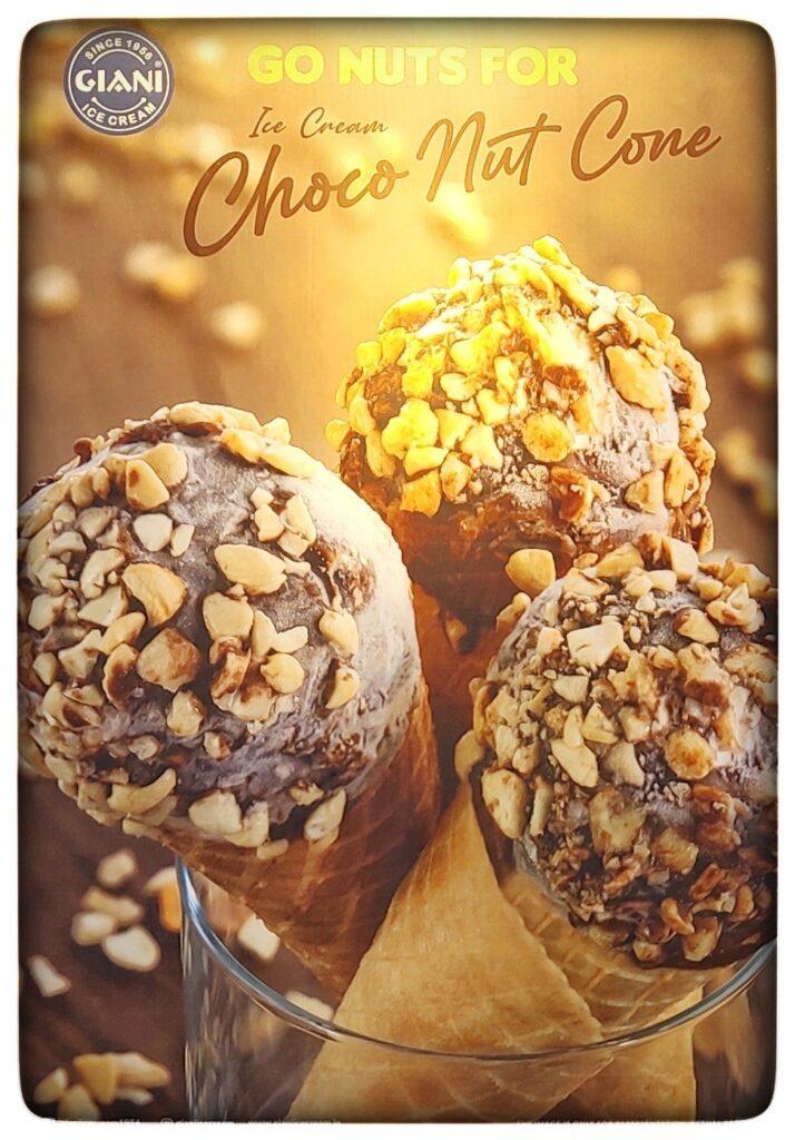 Choco Nut Cone