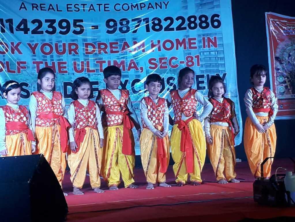 Kalaa Dance Students at Durga Puja