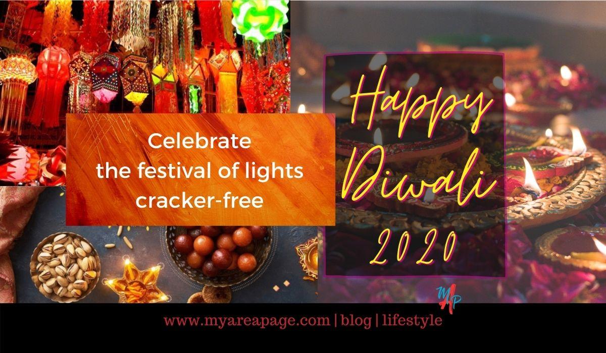 Cracker-free Diwali banner