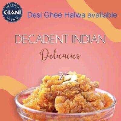 Desi Ghee Halwa at Giani Ice Cream Sapphire Ninety