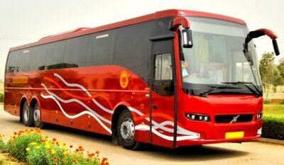 Saarthi Volvo AC bus