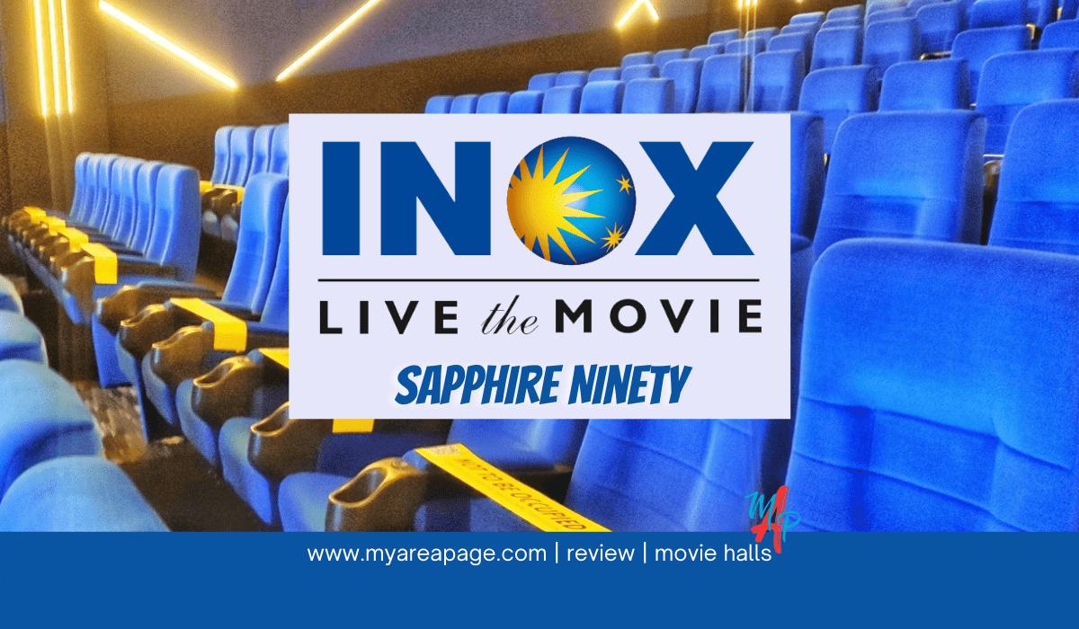 Inox Sapphire Ninety Banner