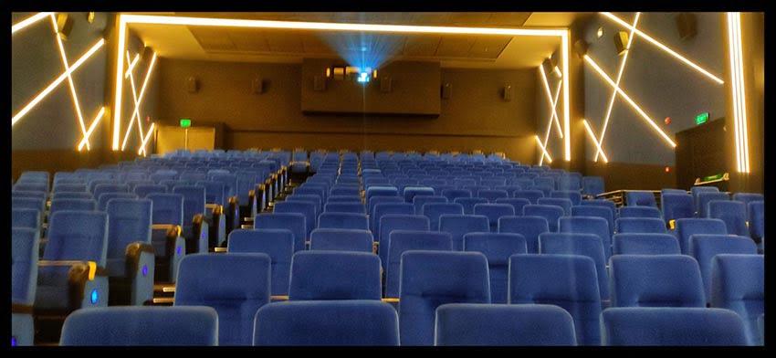 Auditorium Interiors at Inox Sapphire Ninety