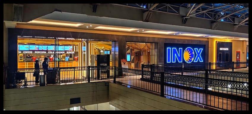 Inox Sapphire Ninety Entrance