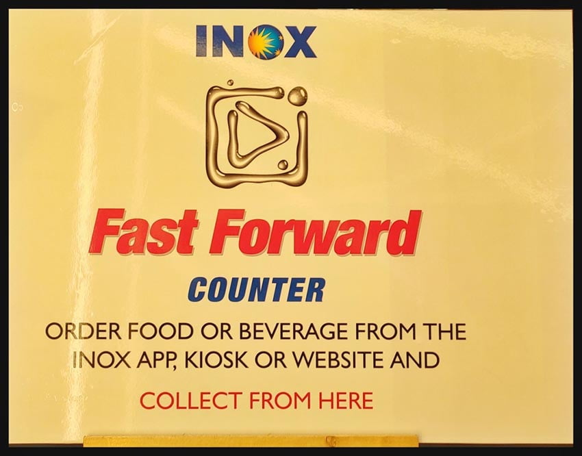 Fast Forward Counter