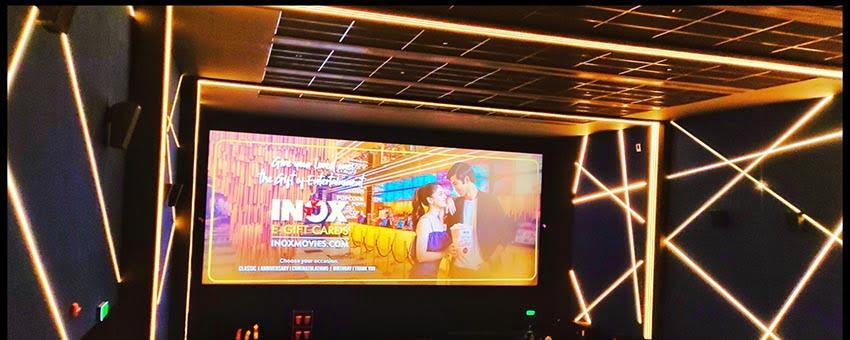 Screen at Inox Sapphire Ninety