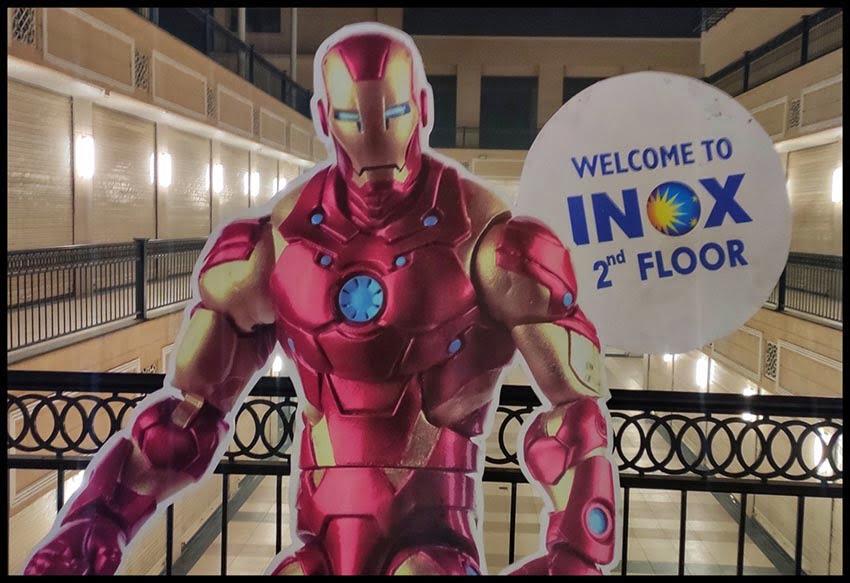 Iron Man Cut out display