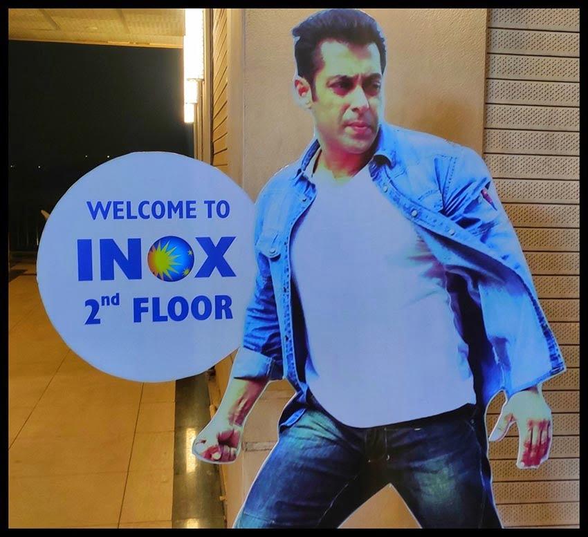 Salman Khan Cut out display