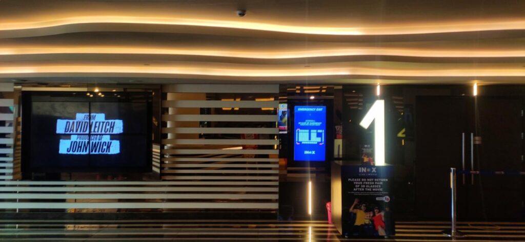 Inox Sapphire 83 audi 1 entrance
