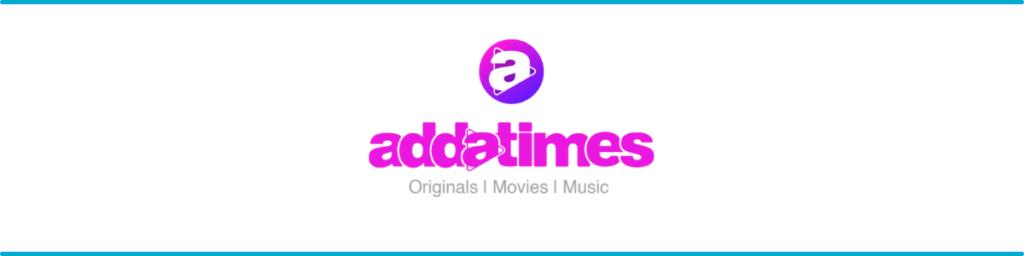 Adda times Banner