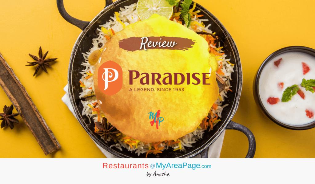Paradise Biryani blog banner