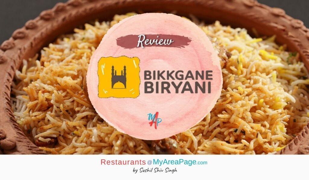 Bikkgane Biryani Blog Banner